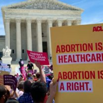 Abortion is healthcare abortion is a right sign